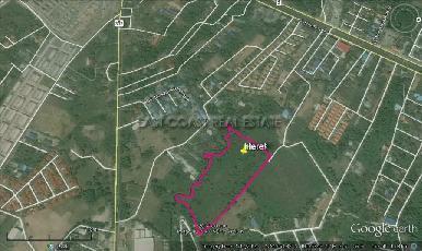 15 Rai land plot in Bang Saray 12