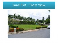 Baan Talay  Land For Sale in  South Jomtien