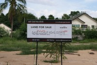 Lakefront land in Mabprachan Land For Sale in  East Pattaya
