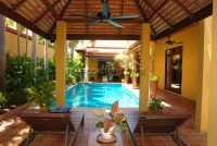 Pool Villa in Soi Wat Boon Houses For Sale in  Jomtien