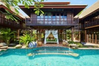 Private Thai Bali style pool Villa houses For Sale in  Jomtien